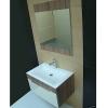 Badezimmereinrichtung - Badmöbelset aus Deutschland - Spiegel,Waschbecken