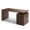 Büroeinrichtung - Milano lifestyle Mocca Schreibtisch
