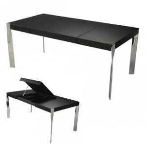 Schreibtisch von Giancarlo Vegni - Chrom,schwarz