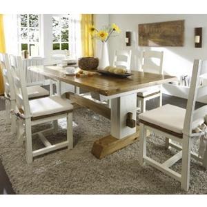 Massivholz - Tisch weiß *Massivum