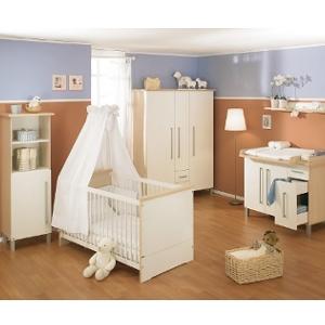 Kinderzimmer Hanni - Eiche / Ecru