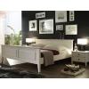 Schlafzimmereinrichtung - Bett Fichte massiv weiß