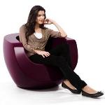 Wohnzimmereinrichtung - Moon Chair Fiberglas