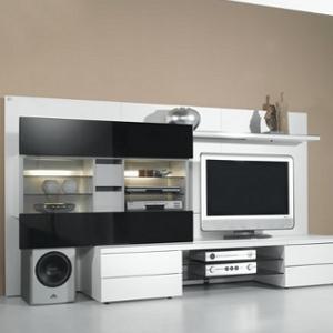Wohnwand TV-Rack  - Studio-Concept