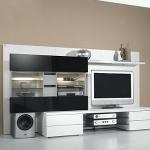 Wohnzimmereinrichtung - Wohnwand TV-Rack  - Studio-Concept