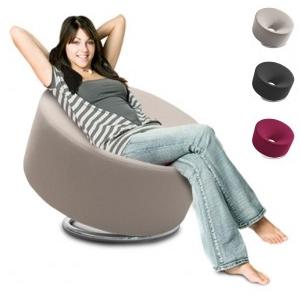 Loop - Sessel rund, einfach und modern