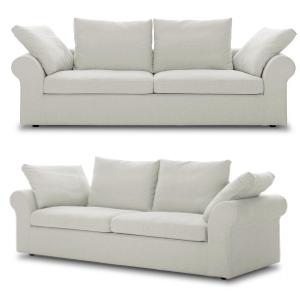 Sofa weiß - Sitzfeldt Boheme