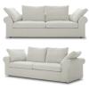 Wohnzimmereinrichtung - Sofa weiß - Sitzfeldt Boheme
